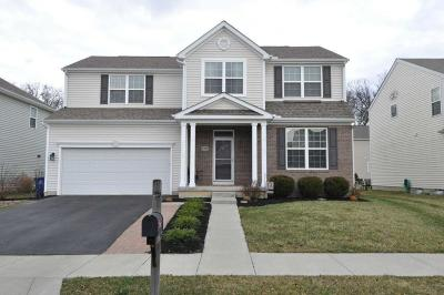 Westerville Single Family Home Contingent Finance And Inspect: 5900 Fultonham Drive