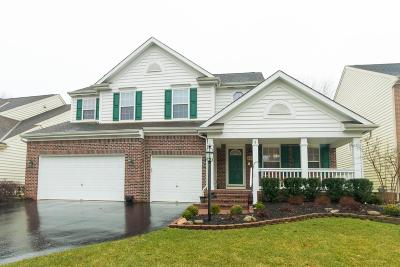 Gahanna Single Family Home Sold: 145 Rivers Edge Way