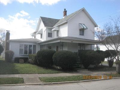 Washington Court House OH Single Family Home For Sale: $89,900