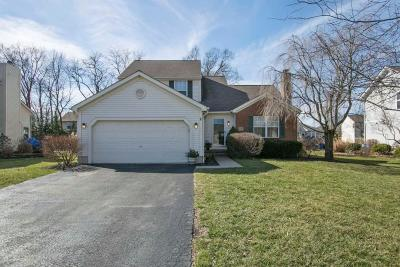 Grove City Single Family Home Contingent Finance And Inspect: 5787 Birch Bark Circle