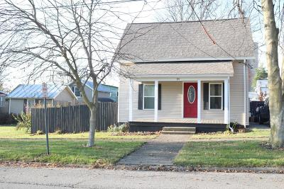 Centerburg Single Family Home Contingent Finance And Inspect: 18 W Houck Street