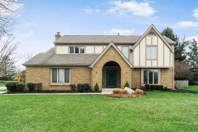 Dublin Single Family Home Contingent Finance And Inspect: 5858 Chatterfield Drive