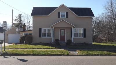 Williamsport OH Single Family Home For Sale: $122,500