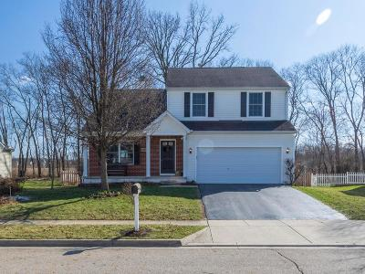 Canal Winchester Single Family Home Contingent Finance And Inspect: 6407 Streams End Drive