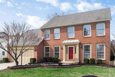 Dublin Single Family Home Contingent Finance And Inspect: 6973 Raymond Drive