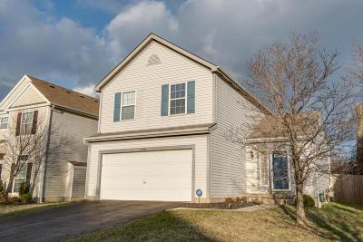 Canal Winchester Single Family Home Contingent Finance And Inspect: 5428 Winchester Cathedral Drive