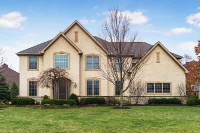 Dublin Single Family Home Contingent Finance And Inspect: 6177 Balmoral Drive