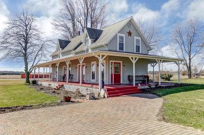 South Vienna Single Family Home Contingent Finance And Inspect: 5370 Callahan Road