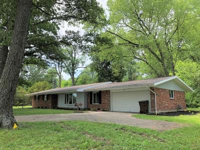 Plain City Single Family Home Contingent Finance And Inspect: 10124 Brock Road