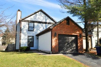 Dublin Single Family Home Contingent Finance And Inspect: 3318 Gladesend Court
