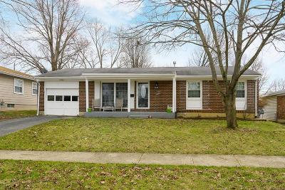 Westerville Single Family Home Contingent Finance And Inspect: 3519 Karikal Drive