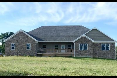 Jacksontown Single Family Home Contingent Finance And Inspect: 6820 Ridgely Tract Road