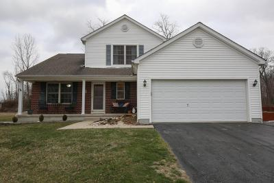 Canal Winchester Single Family Home Contingent Finance And Inspect: 7860 Butterfield Lane