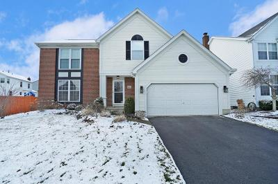Westerville Single Family Home Contingent Finance And Inspect: 8227 Worthington Crossing Drive