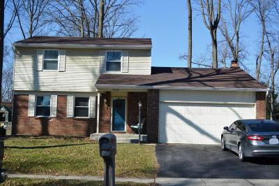 Gahanna Single Family Home Sold: 789 McDonell Drive