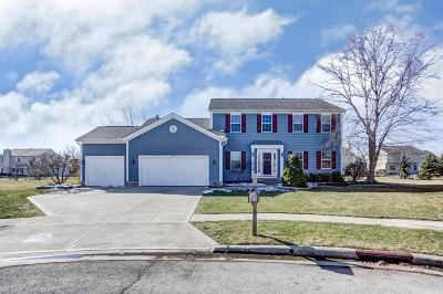 Hilliard Single Family Home Contingent Finance And Inspect: 4284 Kristy Court
