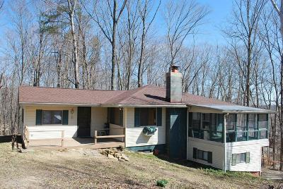 Sugar Grove Single Family Home Contingent Finance And Inspect: 1613 Cardinal Hill Lane
