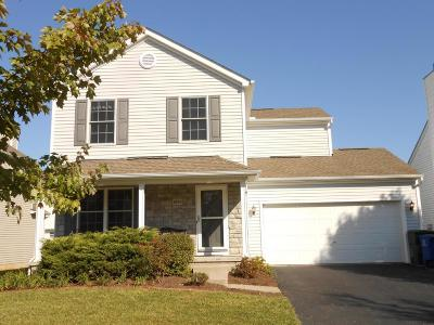 Blacklick Single Family Home Contingent Finance And Inspect: 6974 Onyxbluff Lane