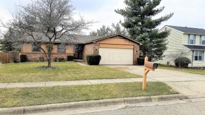 Reynoldsburg Single Family Home Contingent Finance And Inspect: 6447 Blackhaw Drive