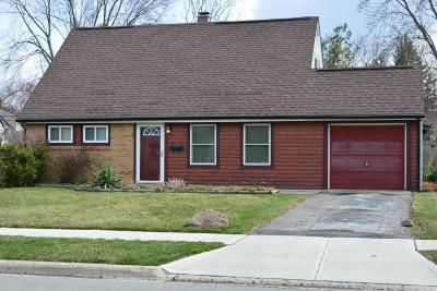 Grove City Single Family Home Contingent Finance And Inspect: 3968 Richard Avenue