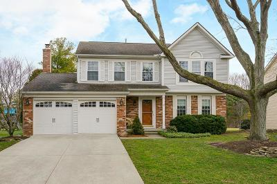 Dublin Single Family Home Contingent Finance And Inspect: 7036 Wichita Drive