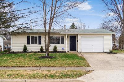 Gahanna Single Family Home Contingent Finance And Inspect: 609 Palace Lane