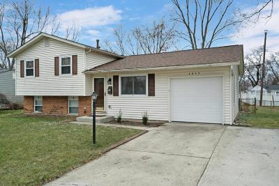 Westerville Single Family Home Contingent Finance And Inspect: 6045 Paris Boulevard N