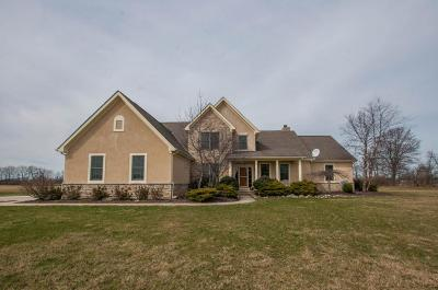 Hilliard Single Family Home For Sale: 8550 Carter Road