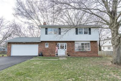 Westerville OH Single Family Home Contingent Finance And Inspect: $239,900