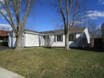 Westerville OH Single Family Home Contingent Finance And Inspect: $216,000