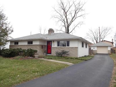 Reynoldsburg OH Single Family Home Contingent Finance And Inspect: $154,900