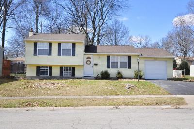 Westerville OH Single Family Home Contingent Finance And Inspect: $154,900