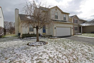 Groveport Single Family Home Contingent Finance And Inspect: 4012 Walnut Crossing Drive