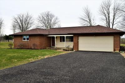 Ashville OH Single Family Home For Sale: $189,900