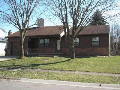 Galloway OH Single Family Home For Sale: $134,900
