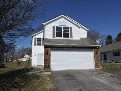 Canal Winchester Single Family Home Contingent Finance And Inspect: 6162 Kensington Glen Drive