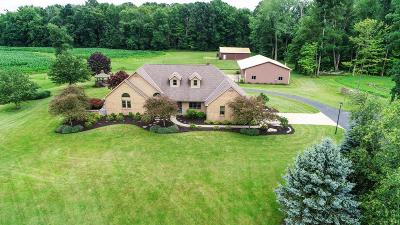 Licking County Single Family Home For Sale: 4181 York Road SW