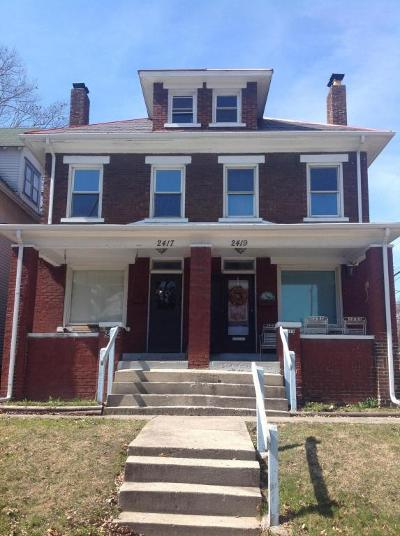 Columbus Multi Family Home Contingent Finance And Inspect: 2417 Summit Street #19