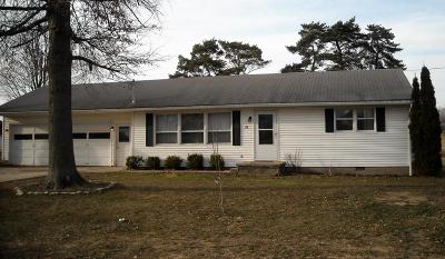 Mount Gilead OH Single Family Home For Sale: $115,000