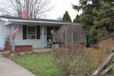 Circleville OH Single Family Home For Sale: $82,500