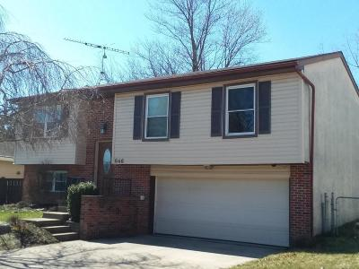 Union County Single Family Home Contingent Finance And Inspect: 646 Wagon Wheel Lane