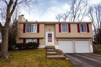 Gahanna Single Family Home Contingent Finance And Inspect: 348 Forestwood Drive