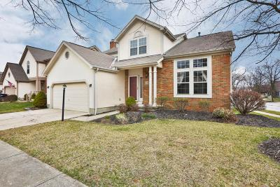 Westerville Single Family Home For Sale: 1244 Flagstone Square