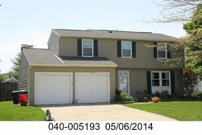 Grove City Single Family Home Contingent Finance And Inspect: 4013 Sequoia Avenue