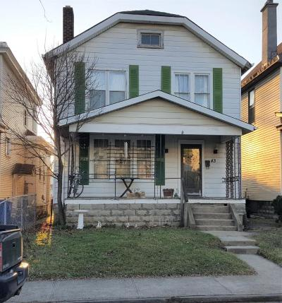 Columbus OH Single Family Home For Sale: $34,500