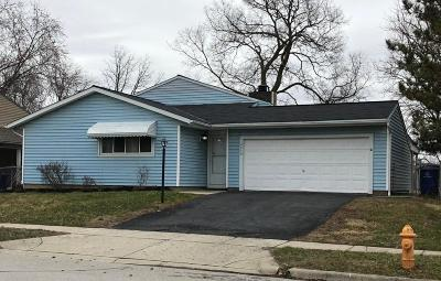 Franklin County, Delaware County, Fairfield County, Hocking County, Licking County, Madison County, Morrow County, Perry County, Pickaway County, Union County Single Family Home For Sale: 2410 Red Rock Boulevard