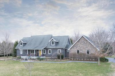 Delaware County, Franklin County, Union County Single Family Home For Sale: 2007 River Road
