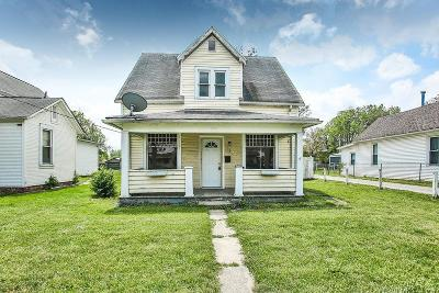 Circleville OH Single Family Home For Sale: $64,316