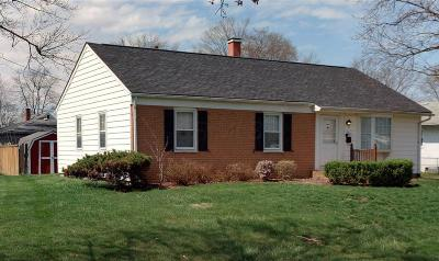 Columbus Single Family Home For Sale: 1336 Frisbee Drive