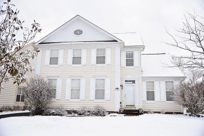 New Albany Single Family Home Sold: 7418 Tottenham Place